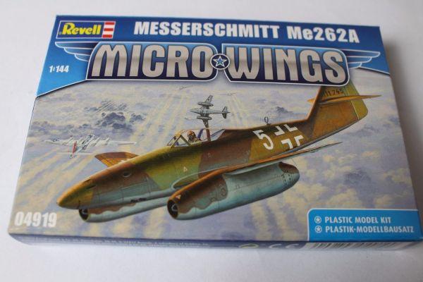 Revell 1:144 MESSERSCHMITT Me262A 04919 Modellbausatz NEU