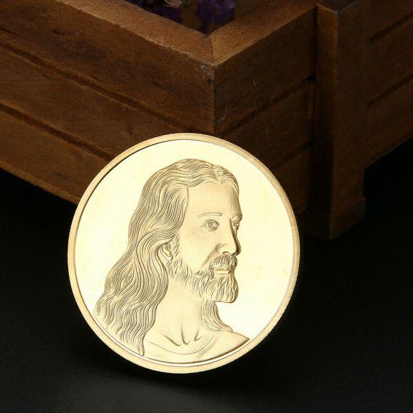Jesus das letzte Abendmal Goldmünze Lammler