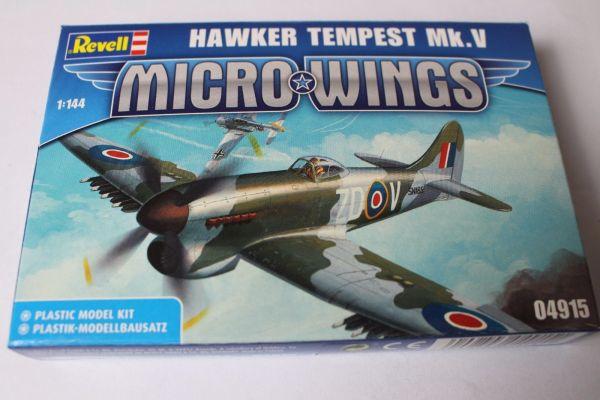 Revell 1:144 HAWKER TEMPEST Mk.V 04915 Modellbausatz NEU
